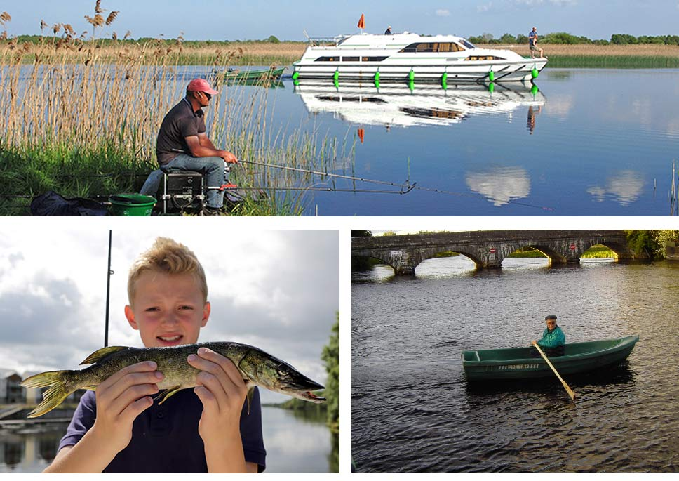 Fishing on your self-drive cruise holiday in Ireland