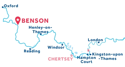 Benson base location map