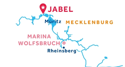 Jabel base location map