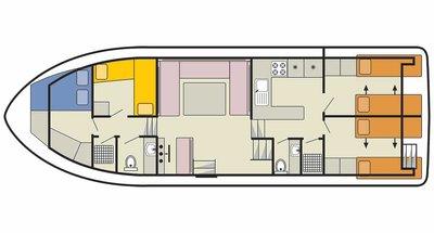 Classique Deckplan