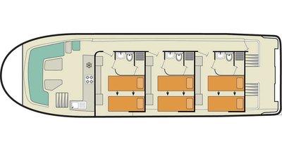 Vision 3 SL Deckplan