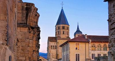 Romanesque church in Tournus