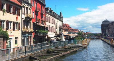 Shop fronts in Saverne, Alsace