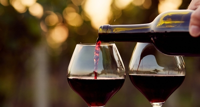Fine wine in Burgundy