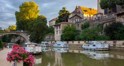 Beautiful medieval town of Nerac