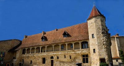 Castle of Henry IV in Nerac