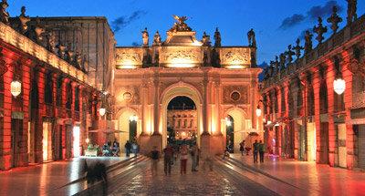 Place Stanislas at night, Nancy