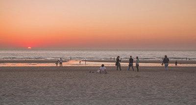 Belgium beach