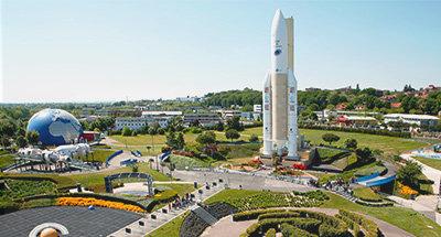 City of Space near Port St. Sauveur, Toulouse