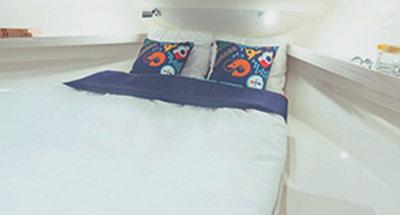 Horizon 5 cabins and bathrooms