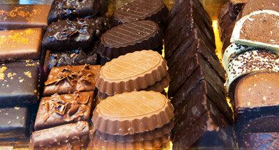 Yummy Belgian chocolates