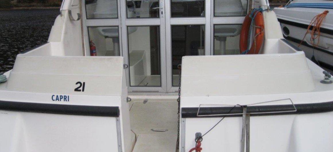 Capri WHS  - exterior rear