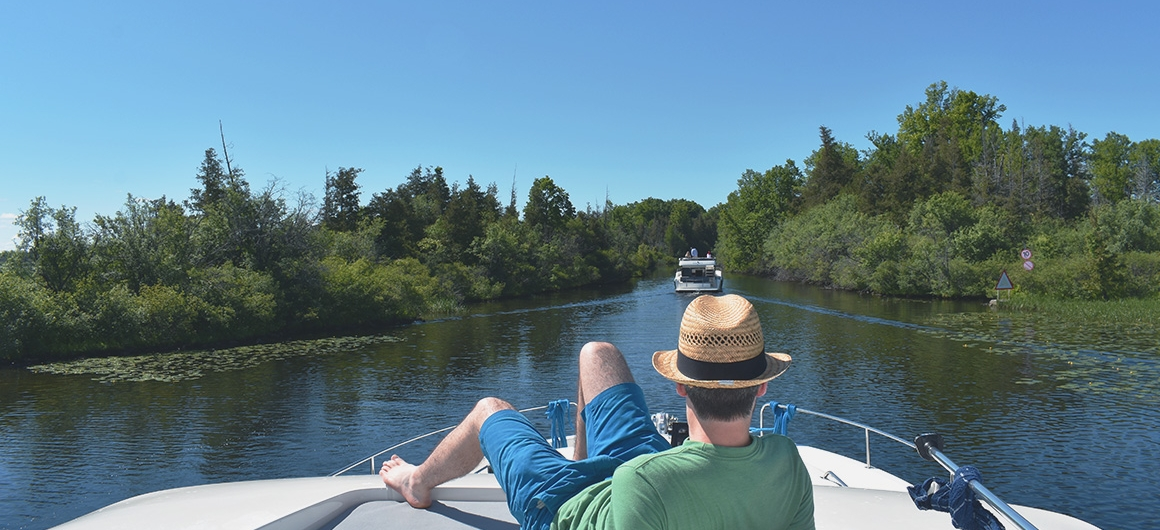 Cruising on the Rideau Canal
