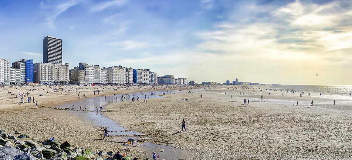 Beach in Ostend
