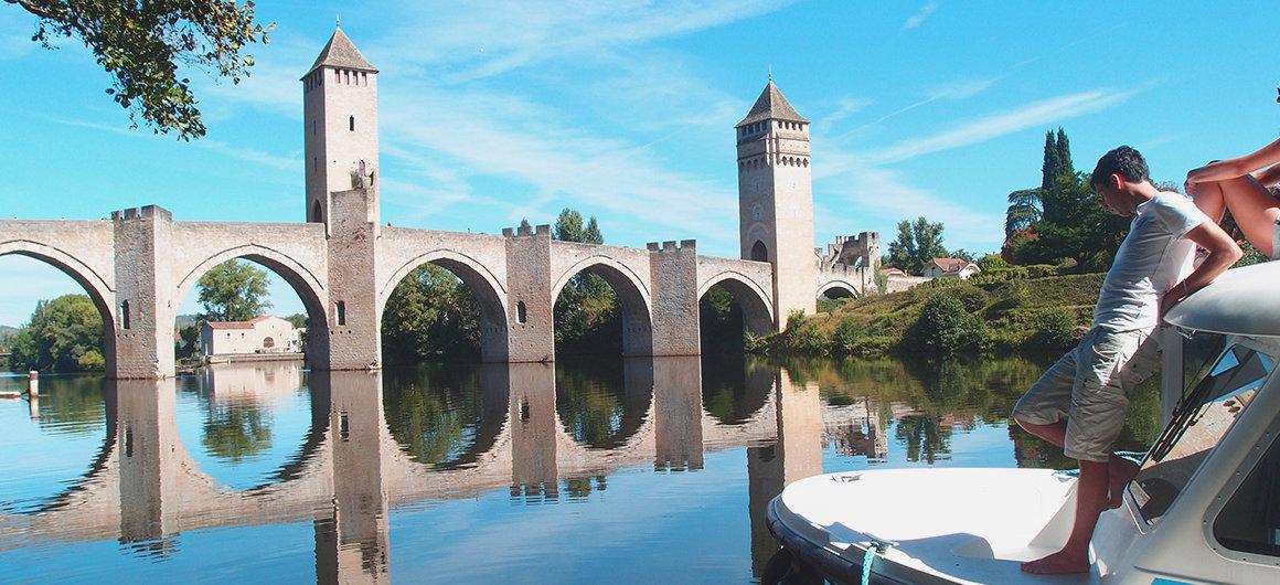 Pont Valentré in the Lot