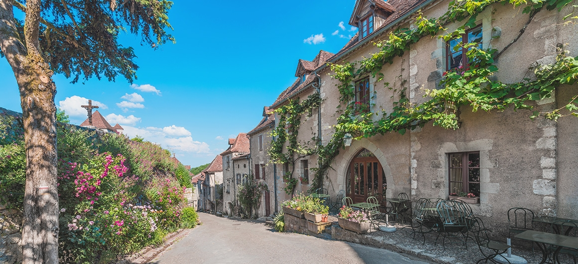 Saint-Cirq-Lapopie in the Lot