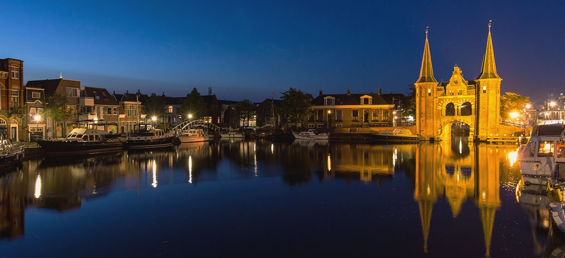 Sneek watergate, Netherlands