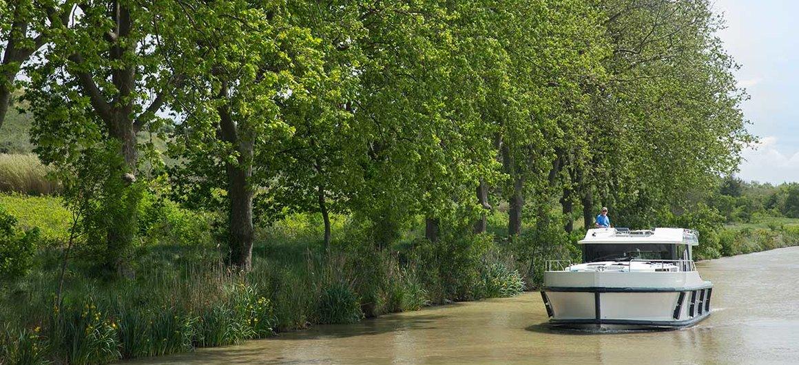 Cruising on the Canal du Midi
