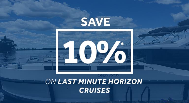 Emerald Star - save 10% on last minute Horizon cruises