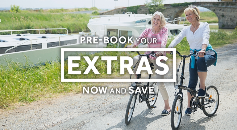 Le Boat - Pre-book your extras