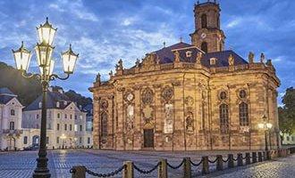 Iglesia barroca protestante Ludwigskirche en Saarbrücken